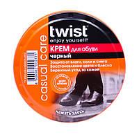 Крем для обуви из гладкой кожи (Чёрный) 50мл - Twist
