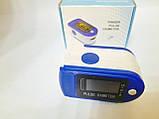Пульсометр оксиметр на палец - пульсоксиметр PULSE OXIMETER цветной LCD дисплей, фото 7