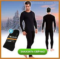 Мужское термобелье Bioactive микрофлис, комплект термоштаны и термокофта + носки термо в подарок