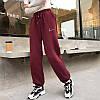Стильные спортивные штаны на флисе 42-50 (в расцветках), фото 2