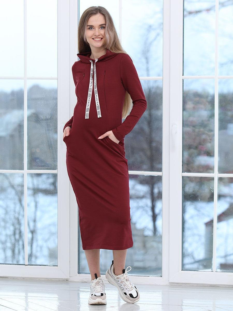 Платье - балахон для беременных и кормящих мам