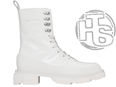 Жіночі черевики Lost General x Both Gao High Boot Spazzolato White P10HSW, фото 2