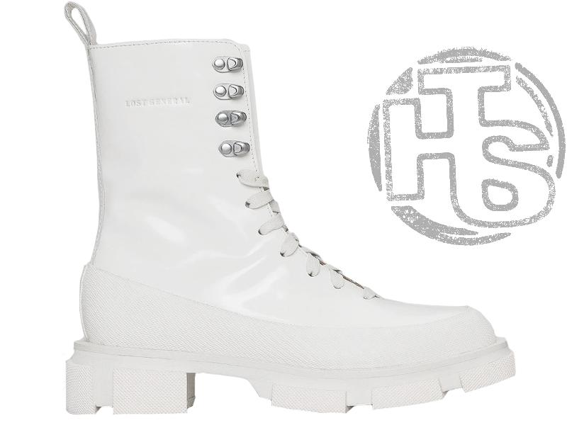 Жіночі черевики Lost General x Both Gao High Boot Spazzolato White P10HSW