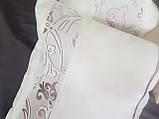 Комплект подушек тафта молочные с классическим рисунком, 3шт, фото 3