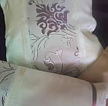 Комплект подушек тафта молочные с классическим рисунком, 3шт, фото 2
