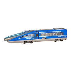 Игрушка инерционный Экспресс-поезд 28 см (звук, свет) Big Motors G1718