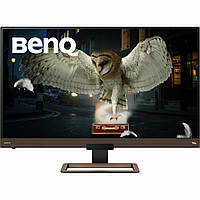 Монитор BENQ EW3280U Metallic Brown-Black (9H.LJ2LA.TBE), фото 1