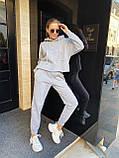 Теплый женский спортивный костюм 46-391, фото 2
