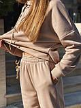 Теплый женский спортивный костюм 46-391, фото 8