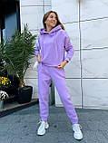 Теплый женский спортивный костюм 46-391, фото 5