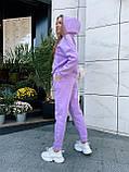 Теплый женский спортивный костюм 46-391, фото 10