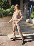 Теплый женский спортивный костюм 46-391, фото 4