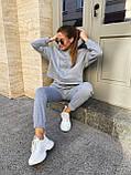 Теплый женский спортивный костюм 46-391, фото 6