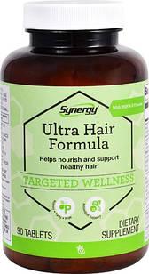 Vitacost Synergy Ultra Hair Formula with MSM & B Vitamins 90 таб на 45 дней