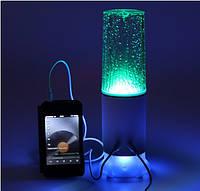 Колонка с сенсором Speaker table lamp LED Touch control