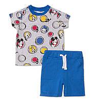 Детский летний костюм с Микки-Маусом для мальчика