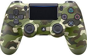Джойстик DualShock 4 для Sony PS4 V2 Green Cammo