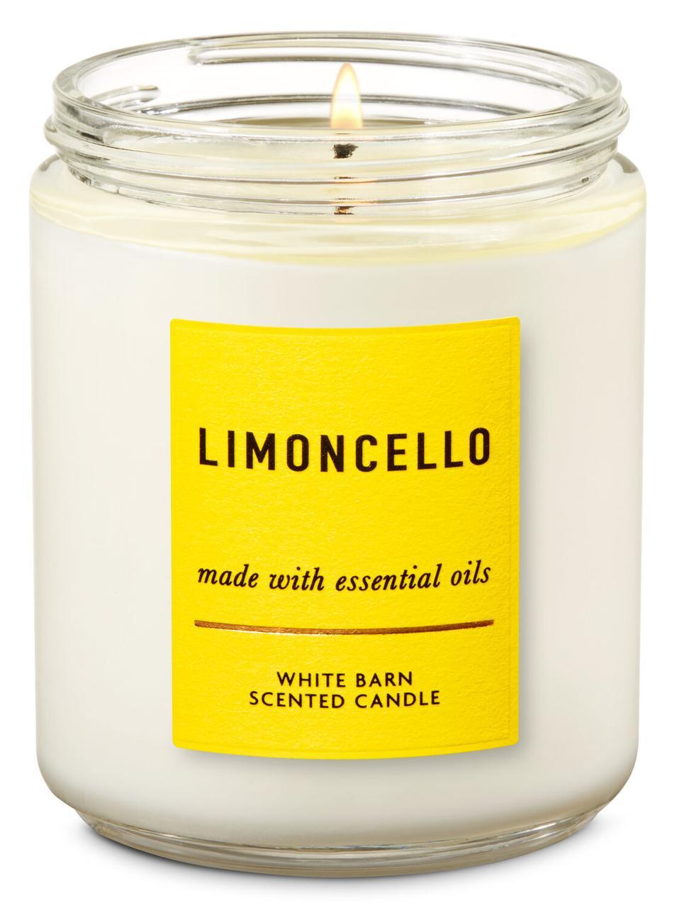 Свеча ароматизированная Bath and Body Works Limoncello Scented Candle 198 г