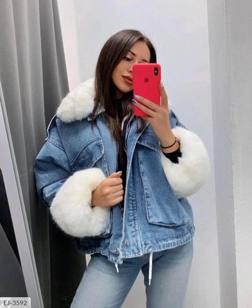 Куртка женская зимняя с мехом
