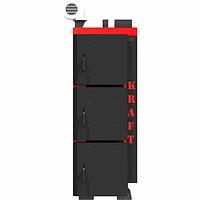 Котел универсальный длительного горения Kraft L 30 кВт верхнего горения с автоматическим управлением