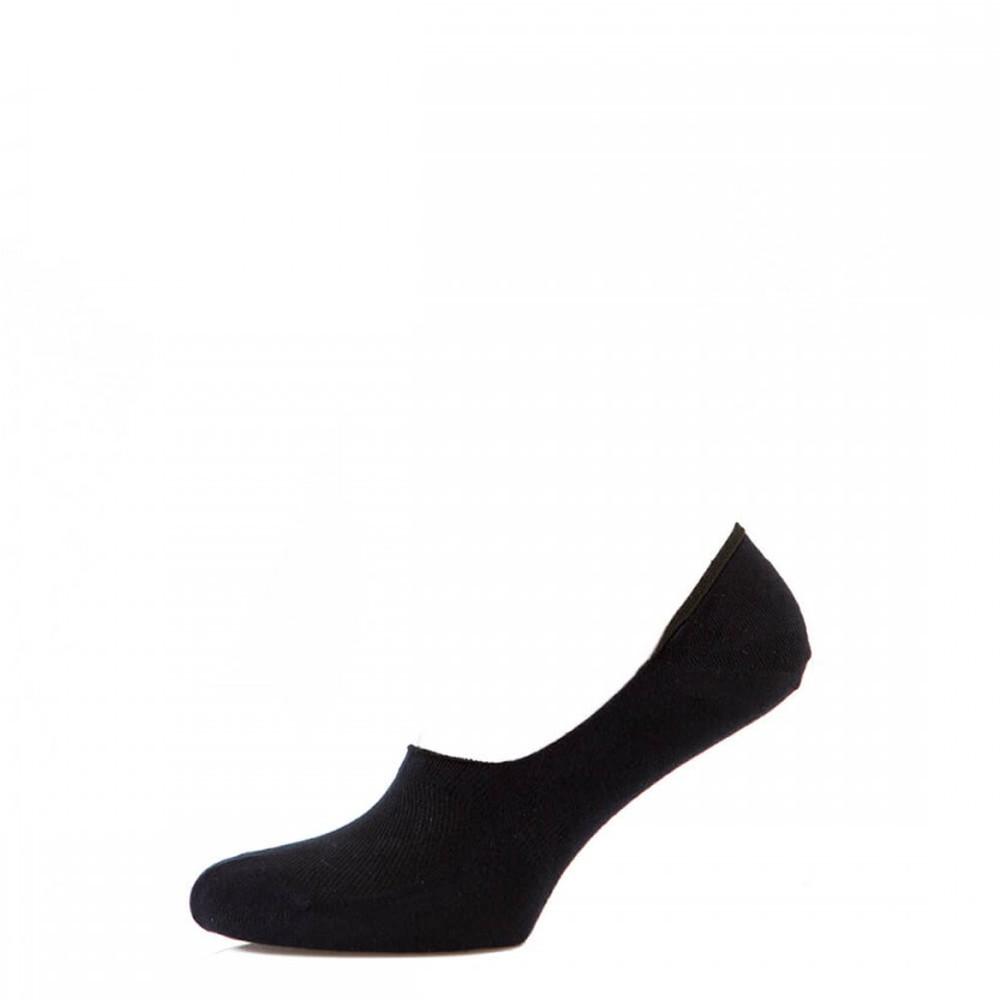 Носки мужские следы Премиум бамбуковые, чёрный