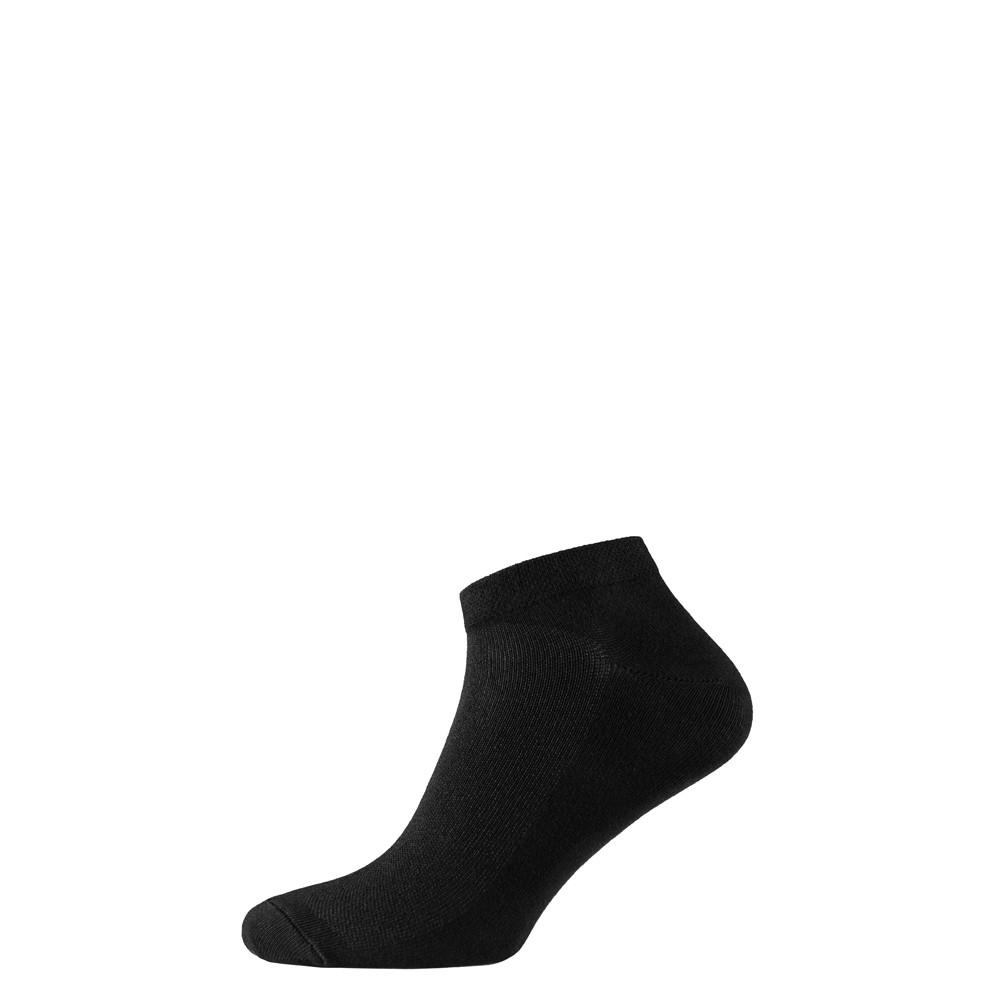Шкарпетки чоловічі короткі з бамбука, чорний
