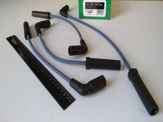 Провода зажигания Газель дв. УМЗ-4216, TESLA (T354H) п/силикон ЕВРО-3