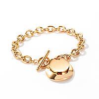 """Позолоченный женский браслет """"Мона"""""""