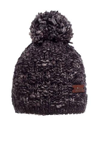 Стильная, удобная и практичная красиво связанная женская шапка, Польша. , фото 2