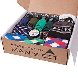 Подарочный мужской набор Winter GIFT Large с зимними носками