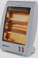 Обогреватель электрический инфракрасный Heater SA 0670 BG Quartz Sakura напольный экономный для дома квартиры