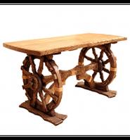 Дерев'яний стіл під старовину Шервуд