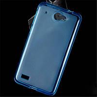 Чехол накладка для Lenovo S939 голубой