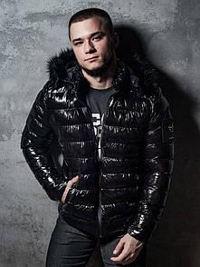 Чоловіча зимова куртка, Stone Island Black.Size S, M, XXL
