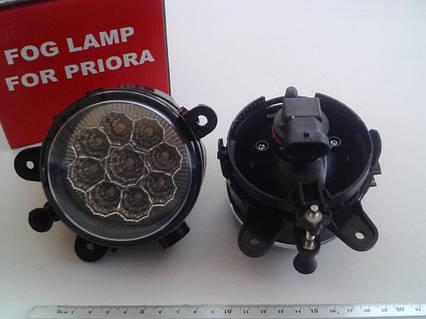Фара дневного света ВАЗ 2170, Lavita (HY-315A LED) к-т
