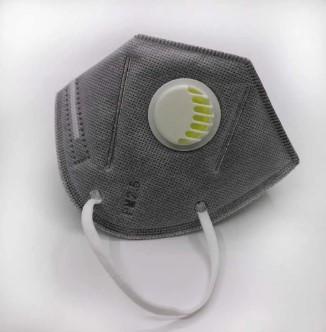 Многоразовая качественная маска-респиратор с угольным фильтром KN95