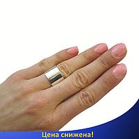 Серебряное Безразмерное кольцо