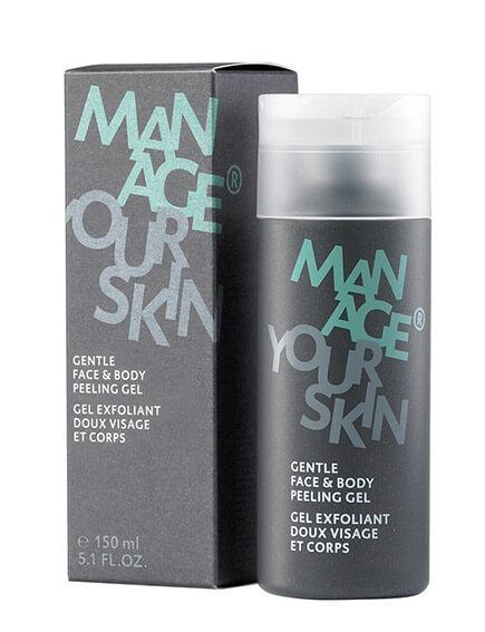 Мягкий скраб для лица и тела для мужчин Dr.Spiller Manage Your Skin Gentle Face & Body Peeling Gel
