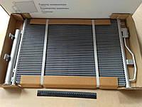 Радиатор кондиционера Aveo T300, Лузар (LRAC 0595) с ресивером