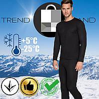 Комплект мужского спортивного зимнего термобелья до - 25°С по норвежской технологии
