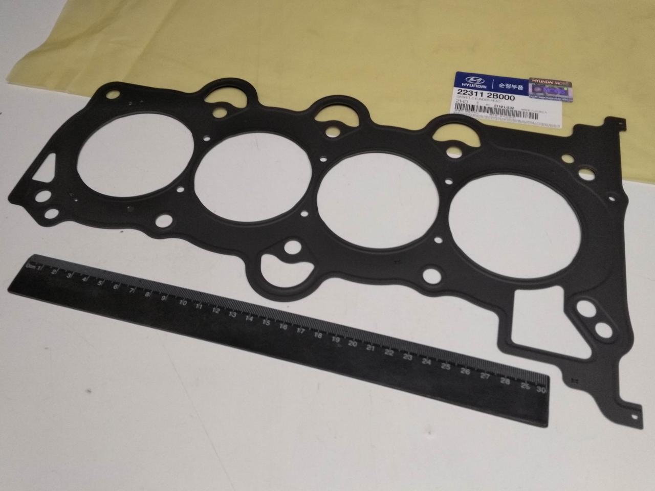 Прокладка ГБЦ  Hyundai/KIA 1.6, MOBIS (223112B000)