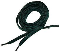 Шнурки в кроссовки плоские 100см Зеленый, фото 1