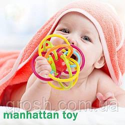 Погремушка-прорезыватель Manhattan Toy Winkel