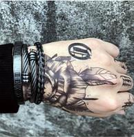 "Набор мужских браслетов ""Гермес"", фото 1"