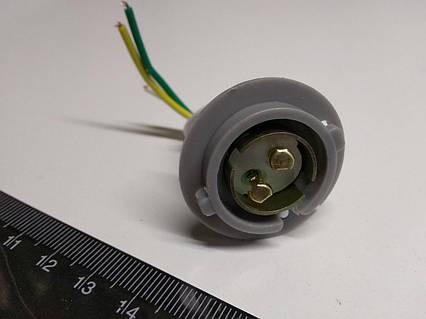 Патрон заднего фонаря Lanos серый/2-х контактный/с проводом