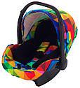 Автокресло Adamex Kite Y123 разноцветный калейдоскоп, фото 2