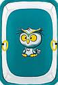 Манеж Qvatro Солнышко-02 мелкая сетка морская волна (owl), фото 2