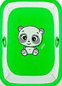 Манеж Qvatro Солнышко-02 мелкая сетка зеленый (panda), фото 2