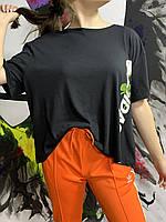 Женская футболка с цветочным рисунком adidas Olahraga Wanita, размер XL