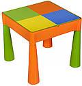 Стіл і 2 стільчика Tega Mamut 899G orange-green, фото 3